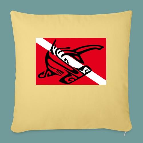 flag_ham_shark - Coussin et housse de 45 x 45 cm
