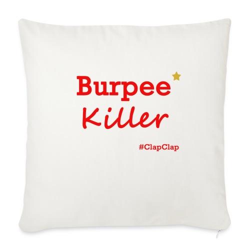 Burpee Killer Stern - Sofakissen mit Füllung 44 x 44 cm