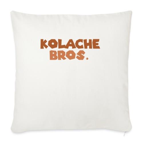 Kolache Bros. Logo Cap - Sofakissen mit Füllung 44 x 44 cm