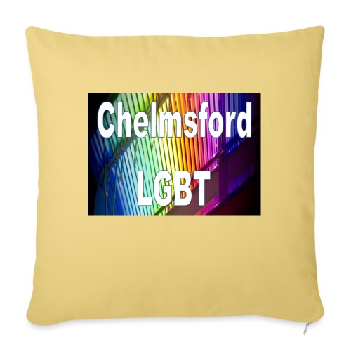 Chelmsford LGBT - Sofa pillow with filling 45cm x 45cm