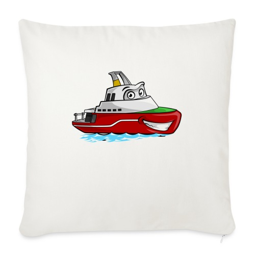 Boaty McBoatface - Sofa pillow with filling 45cm x 45cm