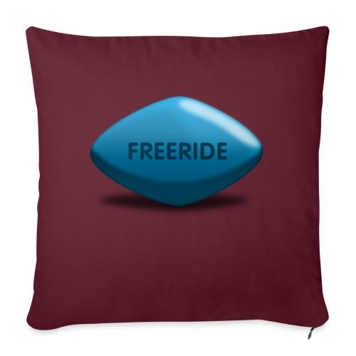 Freeride-Viagra - Sofakissen mit Füllung 44 x 44 cm