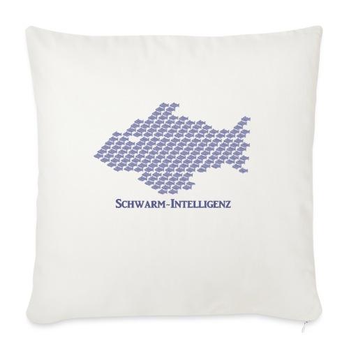Schwarmintelligenz (Premium Shirt) - Sofakissen mit Füllung 44 x 44 cm