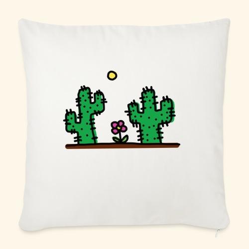 Cactus - Cuscino da divano 44 x 44 cm con riempimento