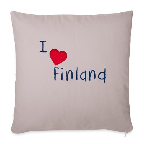 I Love Finland - Sohvatyynyt täytteellä 44 x 44 cm