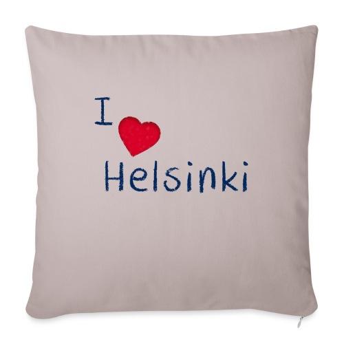 I Love Helsinki - Sohvatyynyt täytteellä 44 x 44 cm