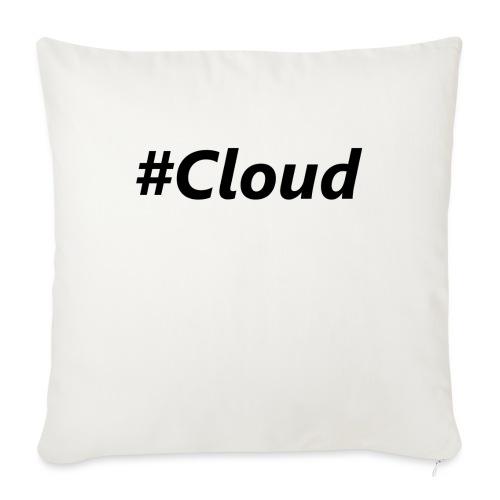 #Cloud black - Sofakissen mit Füllung 44 x 44 cm