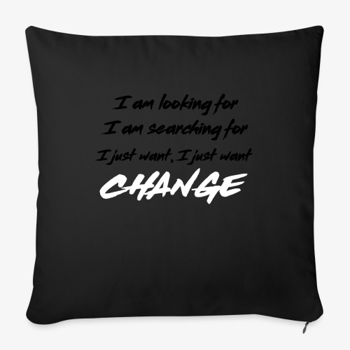 Change (NF) 1.1 - Sofa pillow with filling 45cm x 45cm