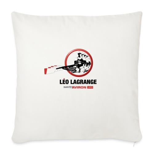 Léo Lagrange Nantes Aviron - Coussin et housse de 45 x 45 cm