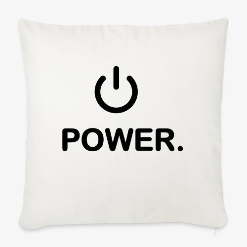 power - Coussin et housse de 45 x 45 cm
