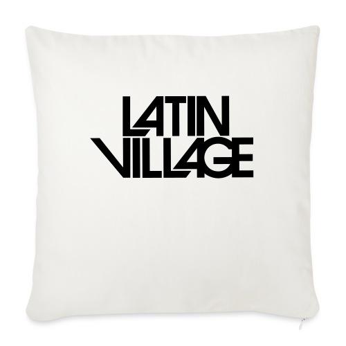 Logo Latin Village 30 - Bankkussen met vulling 44 x 44 cm