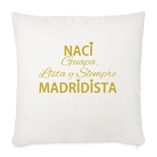 Guapa lista y siempre Madridista - Cuscino da divano 44 x 44 cm con riempimento