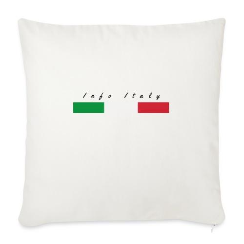 Info Italy Design - Cuscino da divano 44 x 44 cm con riempimento