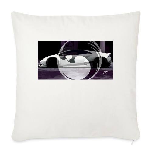 lion black lyon design - Sofa pillow with filling 45cm x 45cm