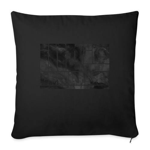 Indie Travelers - Cojín de sofá con relleno 44 x 44 cm