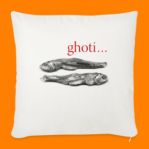 ghoti - Sofa pillow with filling 45cm x 45cm