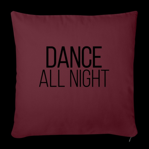 dance all night - Sofakissen mit Füllung 44 x 44 cm