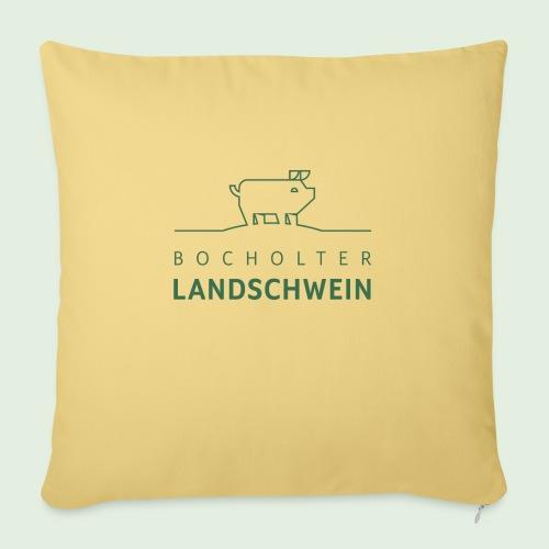 Bocholter Landschwein pur - Sofakissen mit Füllung 44 x 44 cm