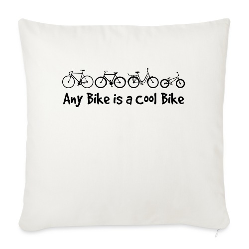 Any Bike is a Cool Bike Kids - Sofa pillow with filling 45cm x 45cm