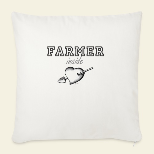 Hearth farmer - Cuscino da divano 44 x 44 cm con riempimento