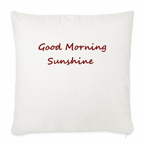 Good morning Sunshine - Bankkussen met vulling 44 x 44 cm