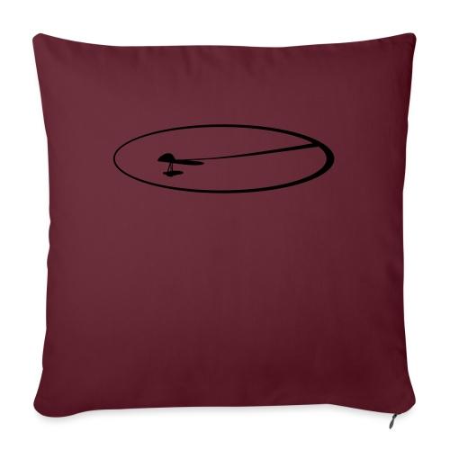 hanggliding - HG SPEED - Sofa pillow with filling 45cm x 45cm