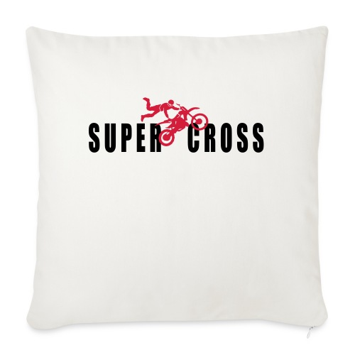 air Supercross - Coussin et housse de 45 x 45 cm