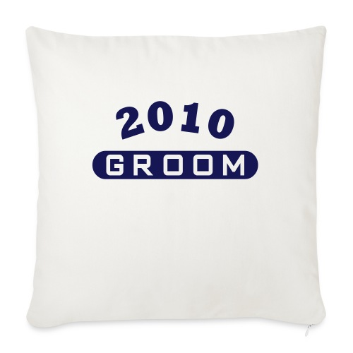 Groom 2010 - Sofa pillow with filling 45cm x 45cm