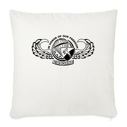 HAF tshirt back2015 - Sofa pillow with filling 45cm x 45cm