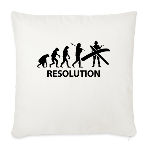 Resolution Evolution Army - Sofa pillow with filling 45cm x 45cm