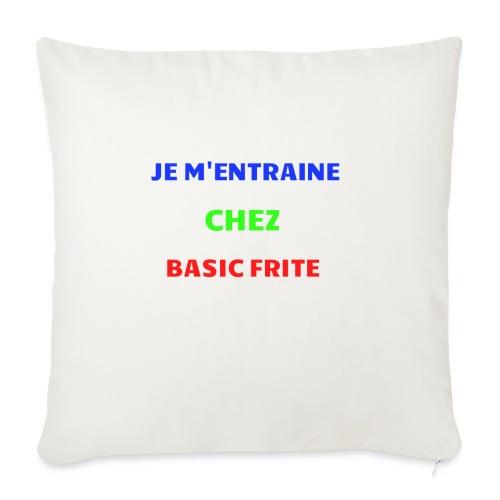 Basic Frite - Coussin et housse de 45 x 45 cm