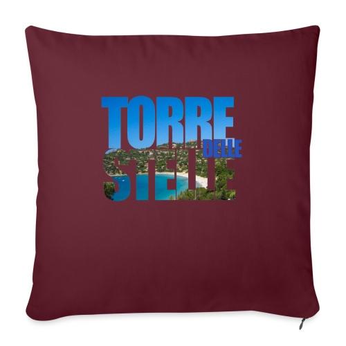 TorreTshirt - Cuscino da divano 44 x 44 cm con riempimento