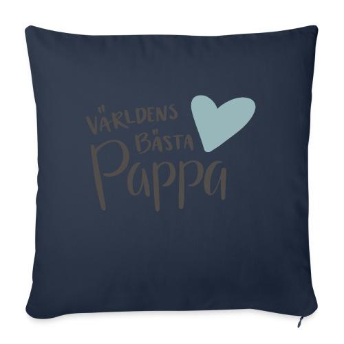 Världens bästa Pappa - NEW - Soffkudde med stoppning 44 x 44 cm