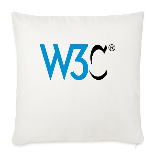 w3c - Sofa pillow with filling 45cm x 45cm
