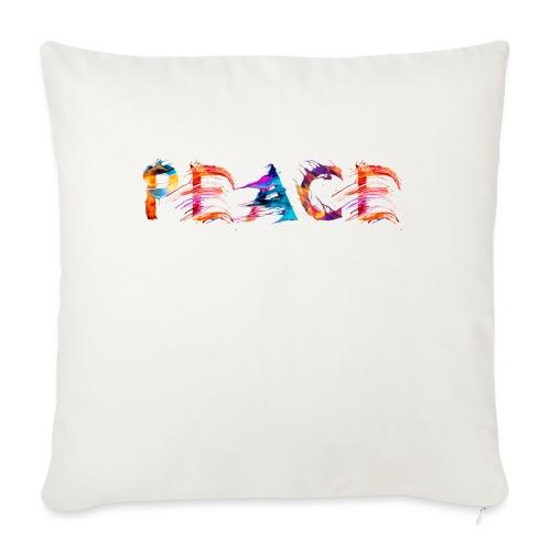 Peace - Coussin et housse de 45 x 45 cm