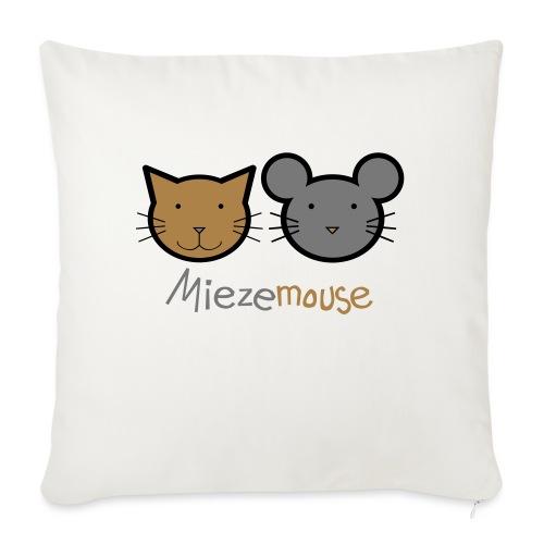 Miezemouse Logo - Sofakissen mit Füllung 44 x 44 cm