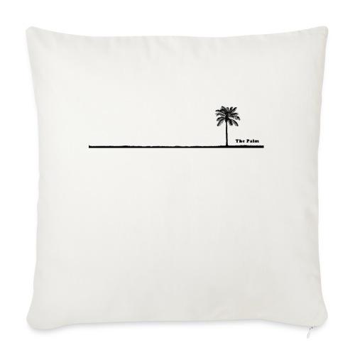 Palm dubai beach black and white - Cuscino da divano 44 x 44 cm con riempimento