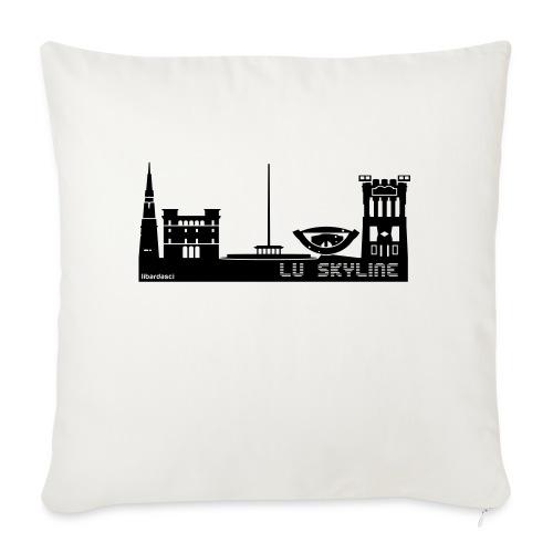 Lu skyline de Terni - Cuscino da divano 44 x 44 cm con riempimento