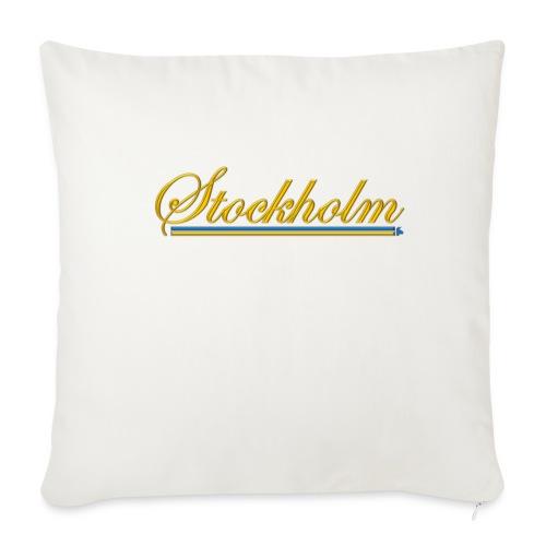 Stockholm - Soffkudde med stoppning 44 x 44 cm