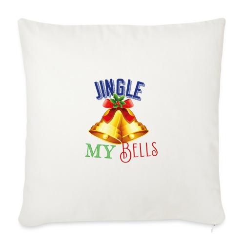 Jingle my Bells - Sofakissen mit Füllung 44 x 44 cm