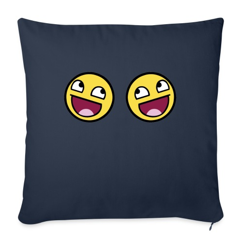 Boxers lolface 300 fixed gif - Sofa pillow with filling 45cm x 45cm