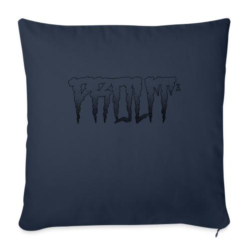Horror PROUT - black - Sofa pillow with filling 45cm x 45cm