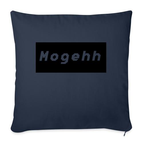 Mogehh logo - Sofa pillow with filling 45cm x 45cm