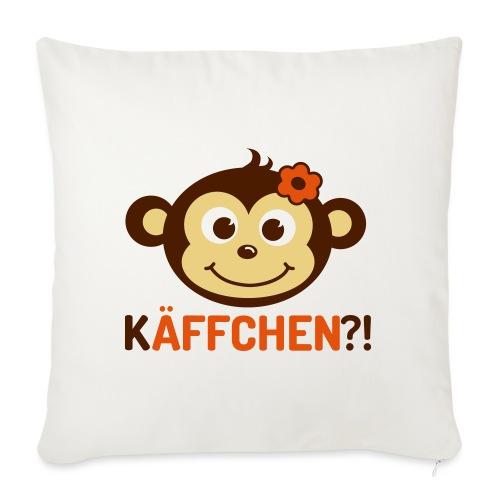 Monkey Käffchen Girl 3 - Sofakissen mit Füllung 44 x 44 cm