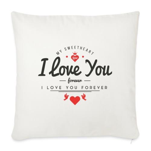 my sweetheart1 - Poduszka na kanapę z wkładem 44 x 44 cm