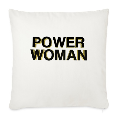POWER WOMEN - Sofa pillow with filling 45cm x 45cm
