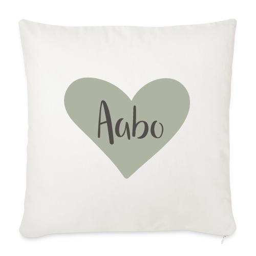 Aabo - hjärta - Soffkudde med stoppning 44 x 44 cm