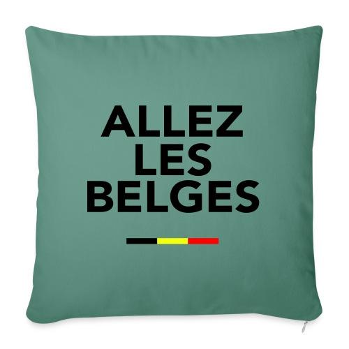 allez les Belges! - Coussin et housse de 45 x 45 cm