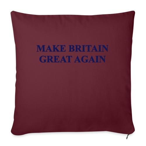 MAKE BRITAIN GREAT AGAIN - Sofa pillow with filling 45cm x 45cm