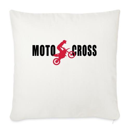 air Motocross - Coussin et housse de 45 x 45 cm